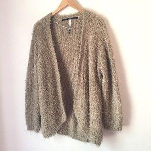 KENSIE fuzzy cozy long sweater Size S